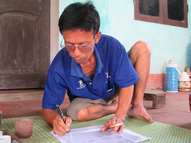 Ông Nguyễn Hải Lưu: Chữ ký trên phiếu chi không phải là của tôi