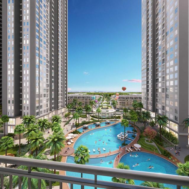 Tầm nhìn đẹp và thoáng mát là ưu điểm nổi trội của các căn hộ tại A3.