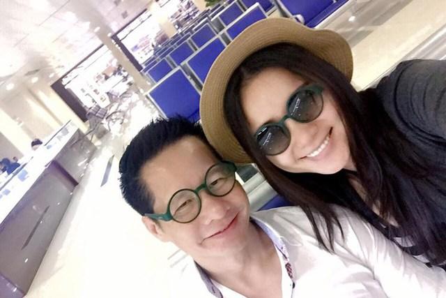 Phan Như Thảo khoe ảnh hạnh phúc bên ông xã trong chuyến đi nghỉ dưỡng ở Đà Lạt vào dịp lễ.