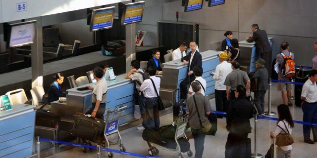 Khi bị cấm bay, hành khách sẽ không có cơ hội bước lên bất cứ chuyến bay nào. Ảnh TL