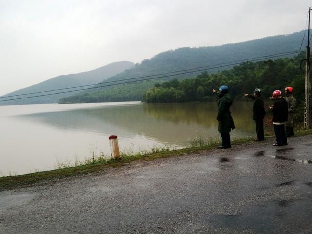 Một phần hồ Vực Sanh, nơi cung cấp nước cho toàn xã Hạ Trạch. Ảnh: T.G