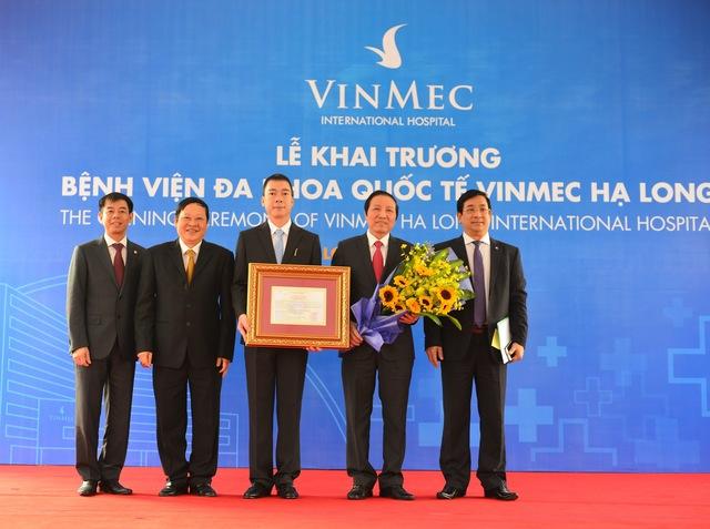 Khánh thành Bệnh viện đa khoa quốc tế Vinmec Hạ Long.
