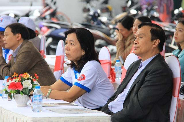 Phó Tổng cục trưởng Tổng cục DS-KHHGĐ Hồ Chí Hùng tại buổi mít-tinh. Ảnh: Đức Hoàng
