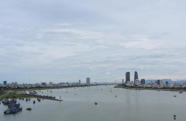 Đoạn hai bên bờ sông Hàn dự kiến xây hầm chui. Ảnh: Đức Hoàng