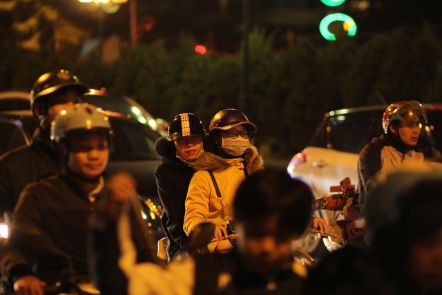Nhiều người tỏ ra mệt mỏi khi phải đối mặt với tình trạng tắc đường hàng ngày.