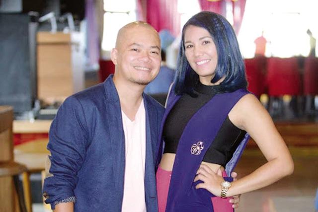 Vợ chồng Janice Phương (ảnh nhân vật cung cấp).