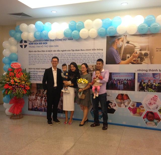 Các cặp vợ chồng nhờ TTTON tại BV Bưu Điện đã có được đứa con mơ ước