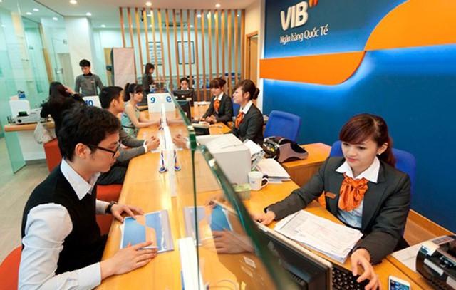 Phòng giao dịch ngân hàng VIB tại Quảng Ninh vẫn hoạt động bình thường. (Ảnh minh hoạ)