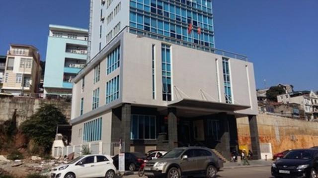 Trung tâm hành chính công TP Hạ Long, nơi xảy ra sự việc. Ảnh: TL