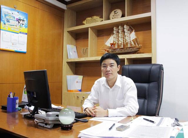ông Phạm Ngọc Thập - Phó Tổng giám đốc Công ty Cổ phần Tập Đoàn giáo dục Egame. Ảnh: TL