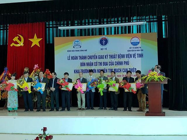 Lễ ký kết chuyển giao kỹ thuật của Bệnh viện Trung ương Huế vời Bệnh viện tỉnh Quảng Trị
