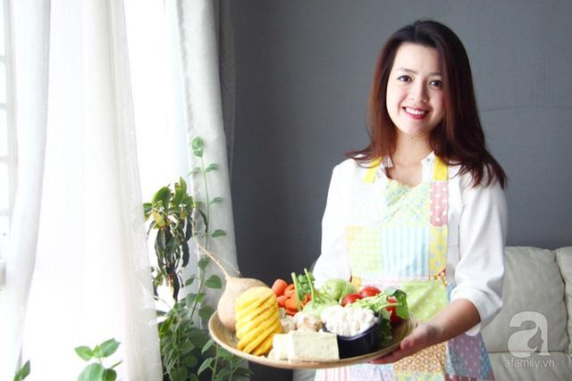 Trần Anh Thi (1987), cựu tiếp viên hàng không, nay là chủ một thương hiệu đồ ăn chay.