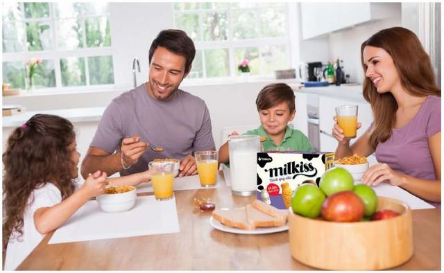 Bữa sáng giàu dinh dưỡng sẽ cung cấp năng lượng cho trẻ suốt cả ngày