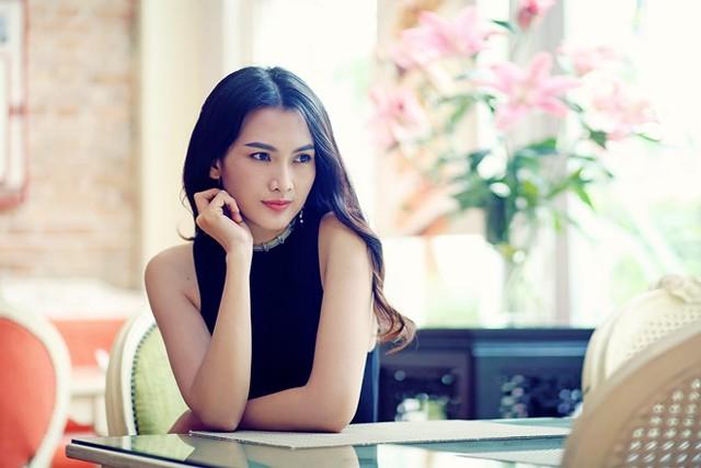 Người đẹp cho biết các mâu thuẫn giữ cô và chồng cũ bắt nguồn từ những bất đồng quan điểm sống. Ảnh: Duy Nhất.