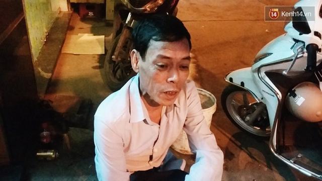 Ông Tiến - hàng xóm của bà Thảo ở Kim Mã.