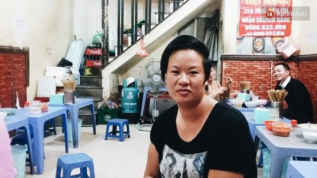 Chị Thủy - con gái bà Thảo.