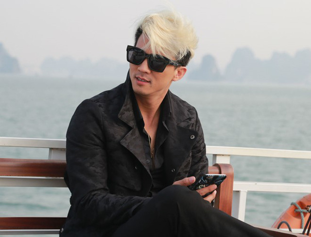 Hà Việt Dũng không dám yêu vì cuộc sống chưa ổn định. Ảnh: Quang Khải.