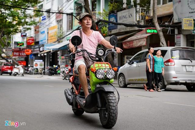 Tấn Beo sợ bị đánh đồng với những giá trị ảo mà truyền hình thực tế mang lại. Ảnh: Nguyễn Bá Ngọc.