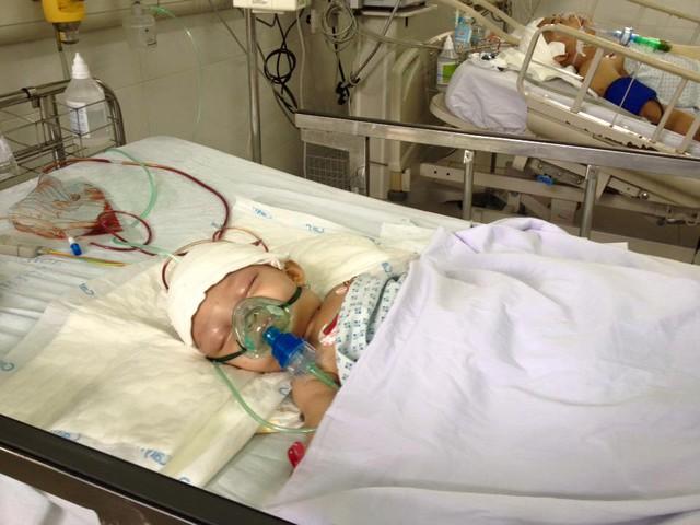 Bệnh nhân sau khi được phẫu thuật thành công.