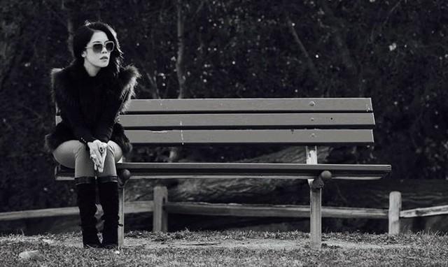 Thu Phương và khoảnh khắc một mình với mùa đông.