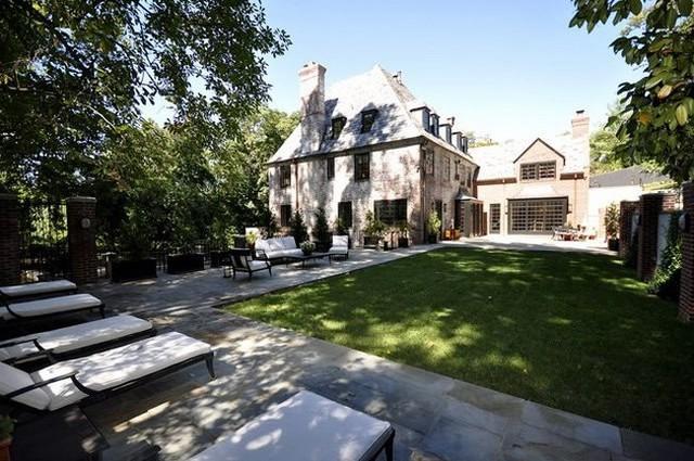 Ngôi nhà thuê tạm của Obama tại thủ đô Washington.