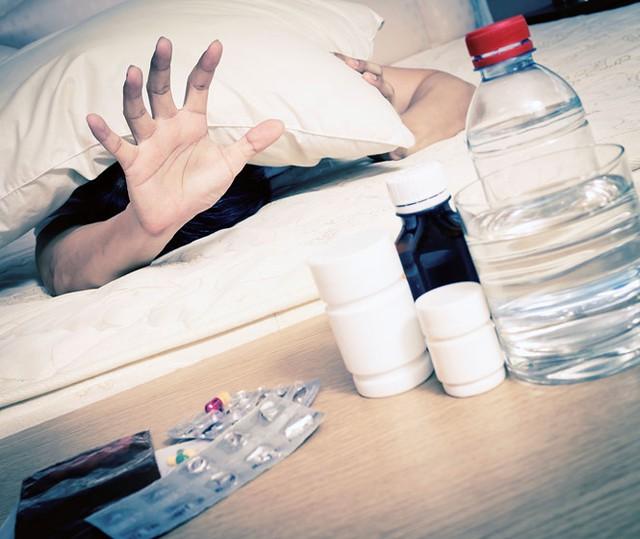 Thuốc giảm đau không có tác dụng giải rượu