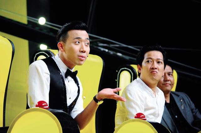 Các diễn viên hài tên tuổi như: Trấn Thành, Trường Giang hiện đang đảm nhiệm 15 chương trình gameshow các loại trên truyền hình. Ảnh: TL