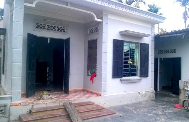 Ngôi nhà của nữ sinh xấu số N.T.A. Ảnh: N.Tiến
