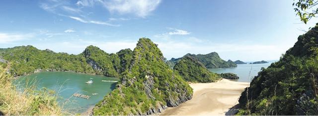 Những núi đá, vịnh đẹp của Hải Phòng.