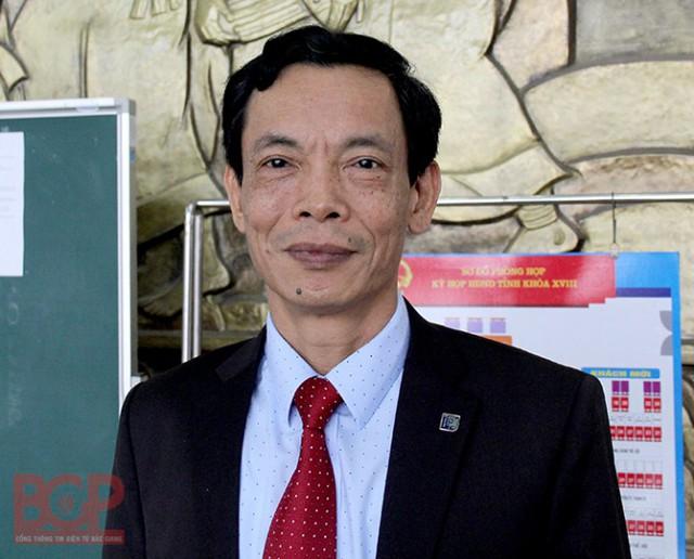 Ông Nguyễn Văn Nghĩa - Chủ tịch UBND huyện Lạng Giang. (ảnh: Cổng thông tin điện tử Bắc Giang)
