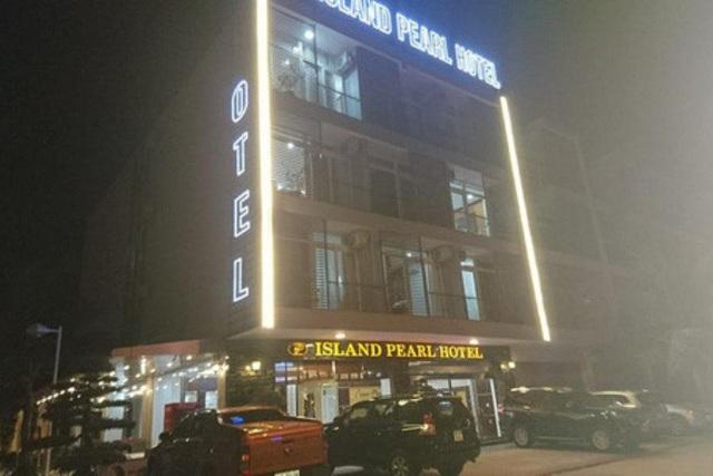 Khách sạn Island Pearl Tuần Châu, nơi xảy ra vụ cháy. Ảnh: T.Đức