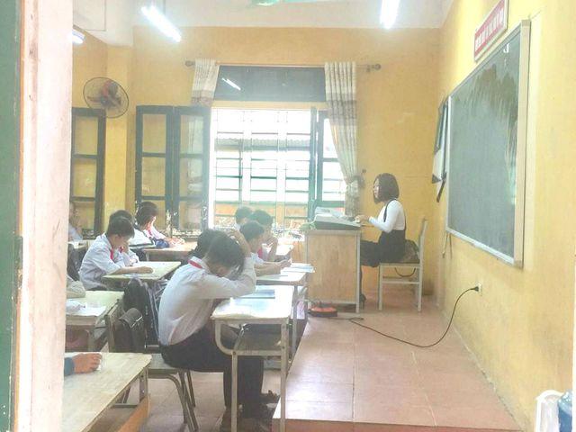 Cô giáo ung thư trở lại bên học trò vào những ngày gần cuối của năm học.