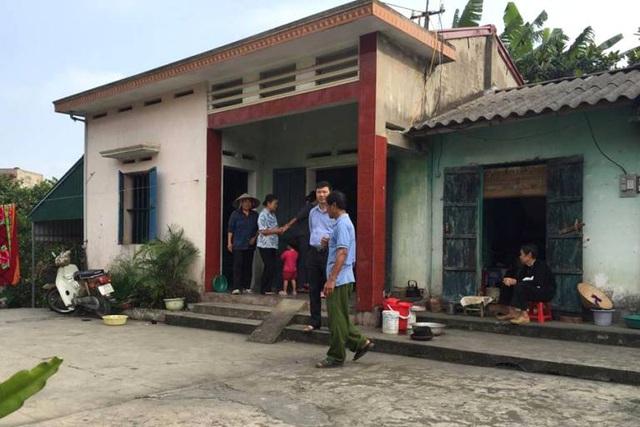 Ngôi nhà của đối tượng Quang, nơi xảy ra sự việc. Ảnh: Đ.Tuỳ