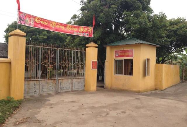 Trại giam Hoàng Tiến (Công an tỉnh Hải Dương), nơi phát hiện phạm nhân Thường treo cổ tự tử. Ảnh: Đ.Tuỳ
