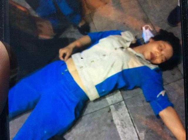 Chị Thanh bị đánh ngất xỉu vì nhắc nhở người dân đổ rác đúng nơi quy định vào tối ngày 15/6. Người hành hung chị Thanh đã ra trình diện công an.