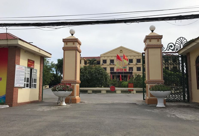 Trụ sở UBND huyện Phúc Thọ (Hà Nội)