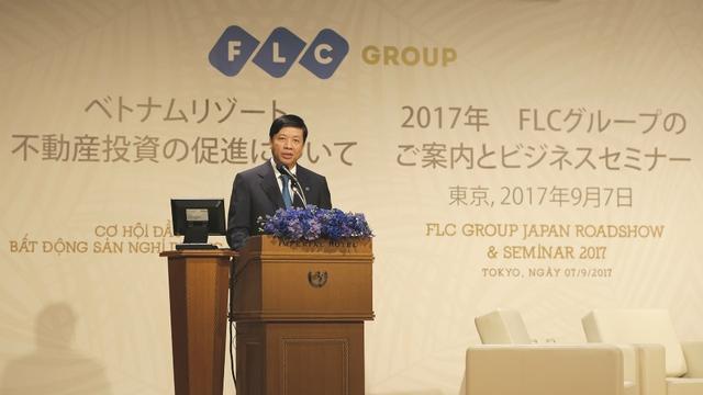 Ông Nguyễn Quốc Cường - Đại sứ đặc mệnh toàn quyền Việt Nam tại Nhật Bản phát biểu tại sự kiện.