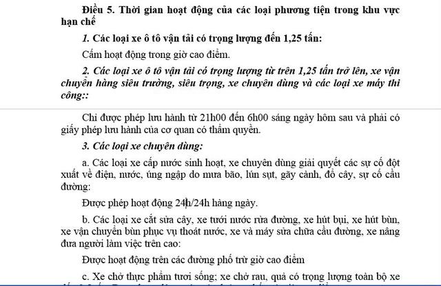 Một số vấn đề bất cập mà người dân nhận thấy trong Quyết định 06/2013/QĐ-UBND của Ủy ban nhân dân TP. Hà Nội
