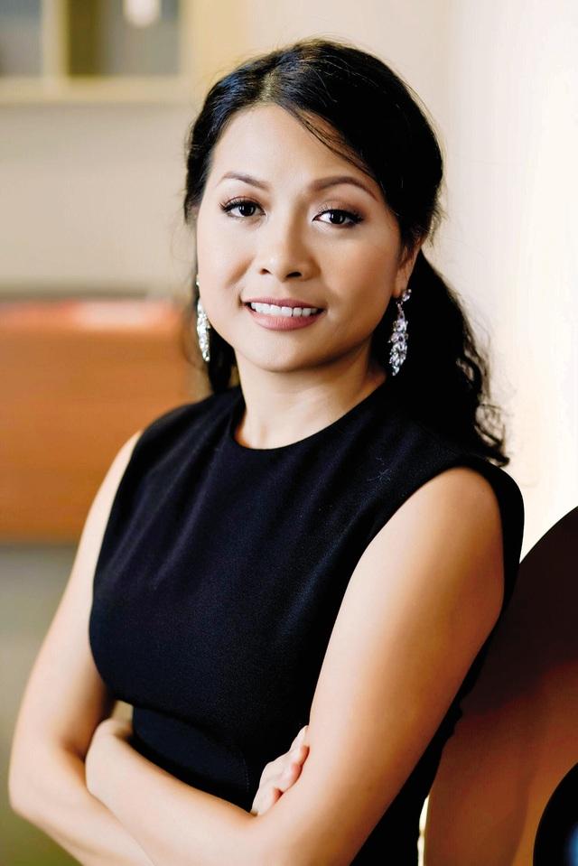 Trần Uyên Phương hiện là Phó Tổng Giám đốc tập đoàn Tân Hiệp Phát. Ảnh:TG