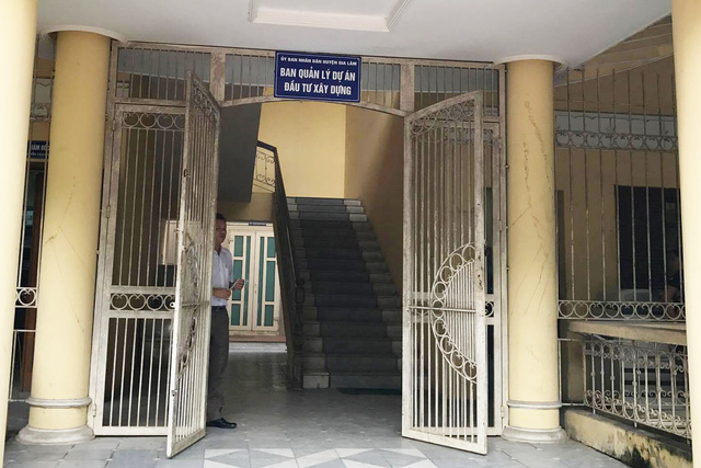 Trụ sở Ban quản lý Dự án đầu tư xây dựng huyện Gia Lâm
