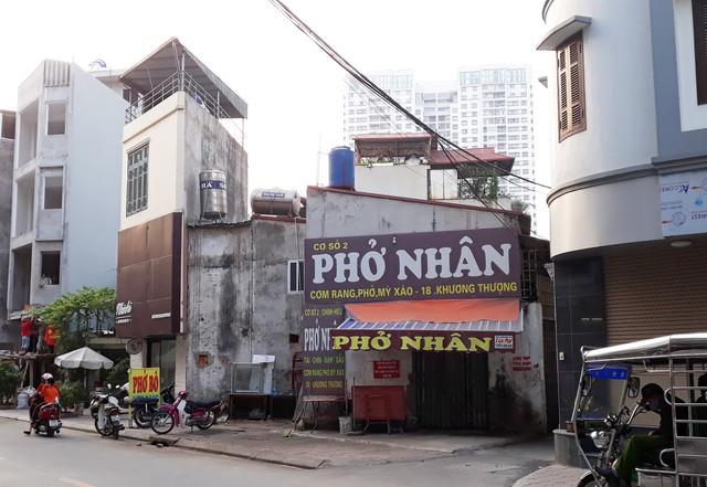 Ngôi nhà của gia đình bà Lụa sau khi phường Khương Thượng đập phá công trình đang gây tranh cãi