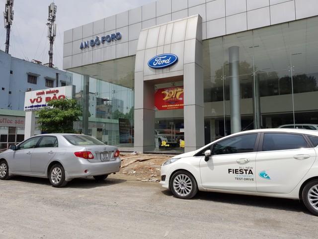Phần diện tích đất Công ty cổ phần Đường sắt Hà Thái cho Công ty CP thương mại Ford An Đô và Công ty Vũ Bảo thuê và sử dụng trái pháp luật