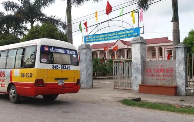 Trụ sở làm việc UBND xã Tam Kỳ, nơi ông Nghĩa đang giữ chức vụ Phó bí thư Đảng ủy, Chủ tịch UBND xã. Ảnh: Đ.Tùy
