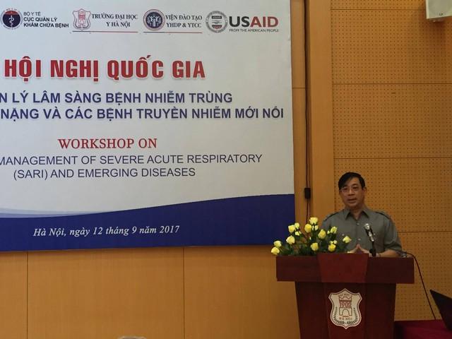 PGS.TS Lương Ngọc Khuê, Cục trưởng Cục Quản lý khám chữa bệnh cho biết, tỷ lệ tử vong do các bệnh truyền nhiễm mới nổi đang có xu hướng gia tăng trở lại