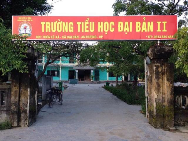 Trường Đại Bản II nơi xảy ra vụ việc. Ảnh: Khánh Hòa