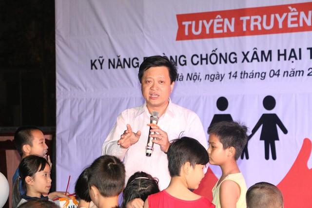 Diễn giả đã có phần trình bày hấp dẫn, lôi cuốn với trẻ em