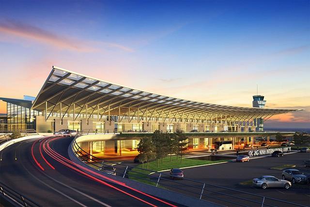 Cảng hàng không quốc tế Vân Đồn quy mô cấp 4E, với đường cất hạ cánh dài 3,6km, đón được các máy bay hiện đại như Boeing 777, 787, A350 với công suất 5 triệu lượt khách/năm, tổng vốn đầu tư gần 7.500 tỷ đồng.