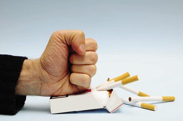 Cai thuốc lá cần bằng ý chí và quyết tâm cao. Ảnh minh hoạ