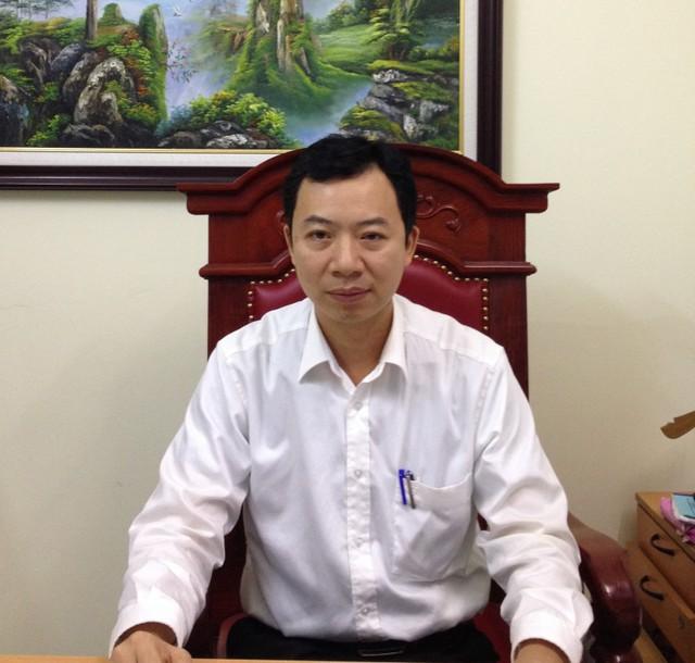Ông Nguyễn Hoàng Thắng - Chủ tịch UBND phường Khương Thượng (ảnh: báo Lao động Thủ đô)