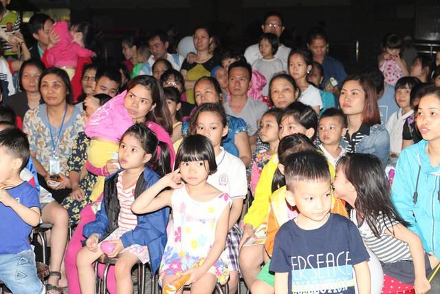 Sự kiện thu hút nhiều trẻ em tham gia